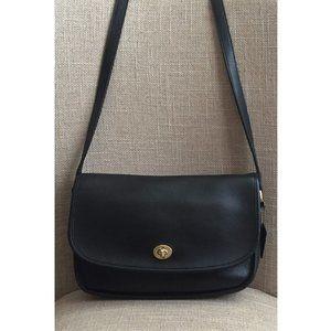 Coach Vintage City Black Crossbody Handbag 9790